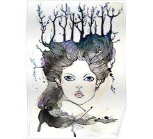 Winter Lover Art Poster