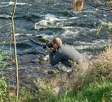 Gary Shoots The Rapids by Jamie  Green