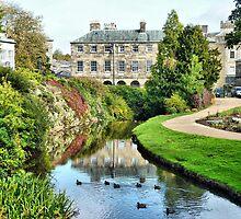 Pavillion Gardens  by Lilian Marshall