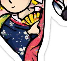 Japanese Hanetsuki (Plain Background) Sticker