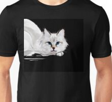White and black cats Unisex T-Shirt