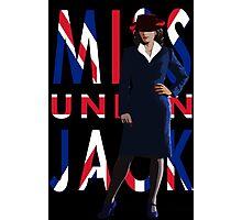Miss Union Jack Photographic Print