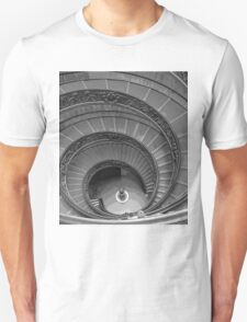 The Bramante Staircase In The Vatican Museum In Rome T-Shirt