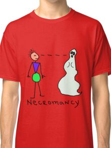 Necromancy Defined in Picture Classic T-Shirt