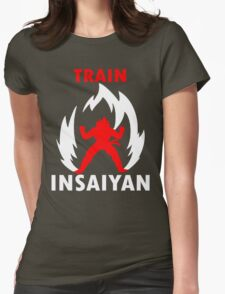 Train Insaiyan IV Womens Fitted T-Shirt