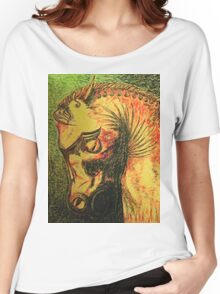 Ancient Persian Horse Head Women's Relaxed Fit T-Shirt