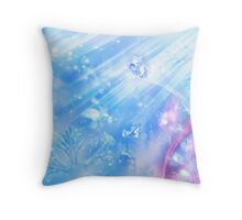 Diamond Snow Throw Pillow