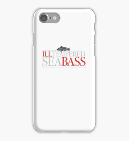Austin Powers - Ill-tempered Sea Bass iPhone Case/Skin