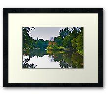 The Beauty of Stillness - Autumn Framed Print