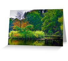 The Beauty of Stillness - Autumn #2 Greeting Card