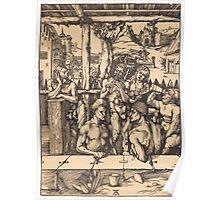 Albrecht Dürer or Durer Bath House Poster