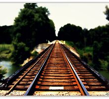 Rail Road  by lynnwolter