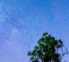 Stars over Lake Moogerah Sticker