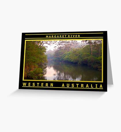 Margaret River Greeting Card