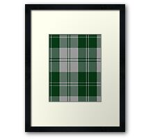 02874 Erskine Green Clan/Family Tartan  Framed Print