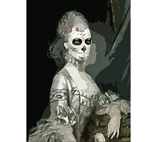 Skeleton Girl Photographic Print