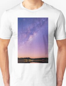 Stars over Lake Moogerah Unisex T-Shirt