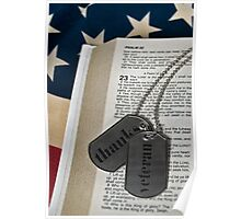 Veteran's Faith Poster