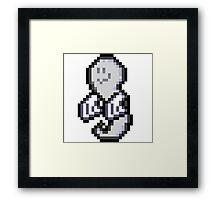 Spooky Spirits (Pixel art) Framed Print