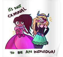 Be an individual! Poster