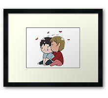 Tiny Cuddly Hannigram Framed Print