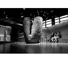 Mégalithe - Musée du Quai Branly  Photographic Print