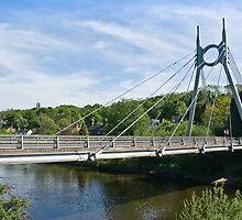 The Free Bridge at Jackfield by John Hallett