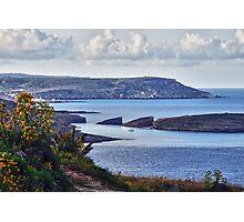 Malta Channel Photographic Print