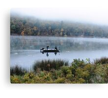 Mirror Fishing Canvas Print