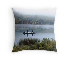 Mirror Fishing Throw Pillow
