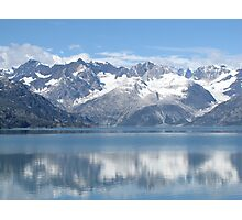 reflection of mountains Photographic Print