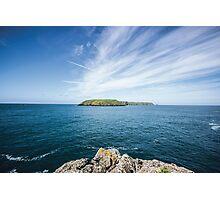 Skomer Island Photographic Print