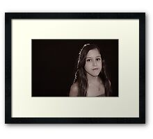 Osher's Birthday- Mia Framed Print