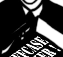 The Inbetweeners -  Briefcase Wanker Sticker