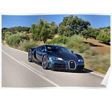 Bugatti Veyron - The World's Fastest Automobile .... Poster