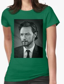 james mcavoy Womens Fitted T-Shirt