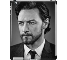 james mcavoy iPad Case/Skin