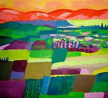 bekaa valley by Louma Rabah