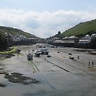 Port Isacc, Cornwall. by Emma Coles