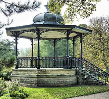 The Bandstand .  by Lilian Marshall
