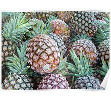 Pineapple Crush Poster