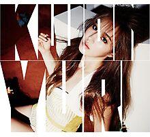 Girls' Generation (SNSD) Kwon Yuri 'Lion Heart' Photographic Print