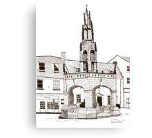 Shepton Mallet Market Cross Somerset Canvas Print