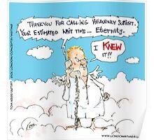 Customer Service In Heaven Poster