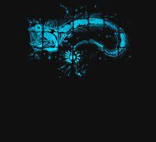 Glowing Bacterial Art - Viperfish T-Shirt