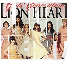 Girls' Generation (SNSD) 'Lion Heart' Poster