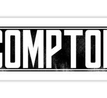 Dr. Dre Compton Tee Sticker
