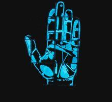 Glowing Bacterial Art - Hand T-Shirt