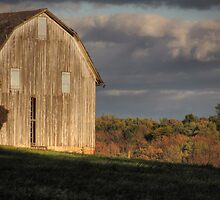 Barn No. 4 (detail) by Aaron Campbell
