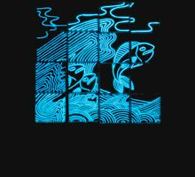 Glowing Bacterial Art - Ocean Unisex T-Shirt